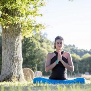 """Retraite de Yoga """"Se nourrir profondément""""avec Ariane Albecker du 28 au 30 juillet dans le sud de la France"""
