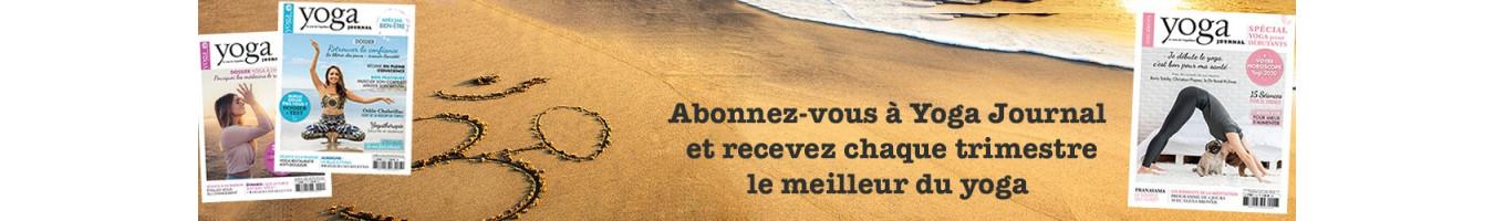Retrouvez les différents types d'Abonnements au Yoga Journal France
